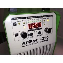 Сварочный инверторный полуавтомат Атом I-250 MIG/MAG